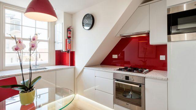 Standard One Bed Kitchen