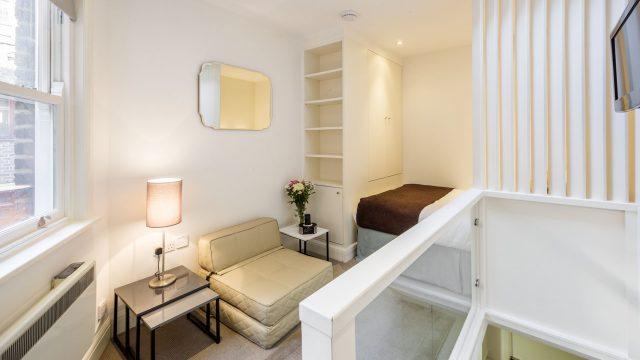 Marylebone Service Studio - Bedroom