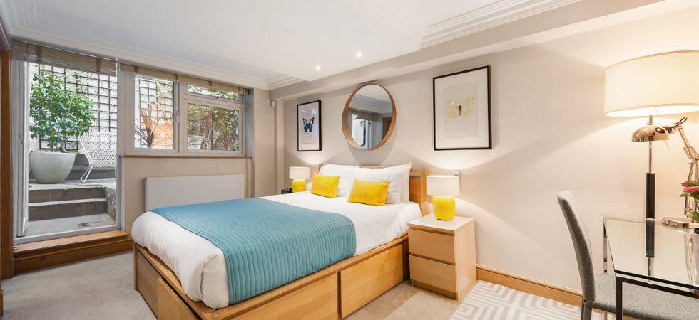Senior one bedroom Marylebone