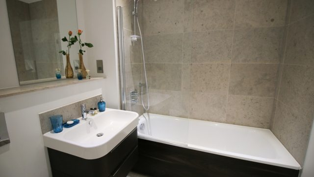 Banyan flat 21, One Bed Bathroom
