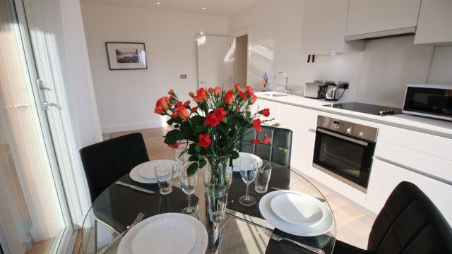 Banyan flat 21, One Bed Kitchen