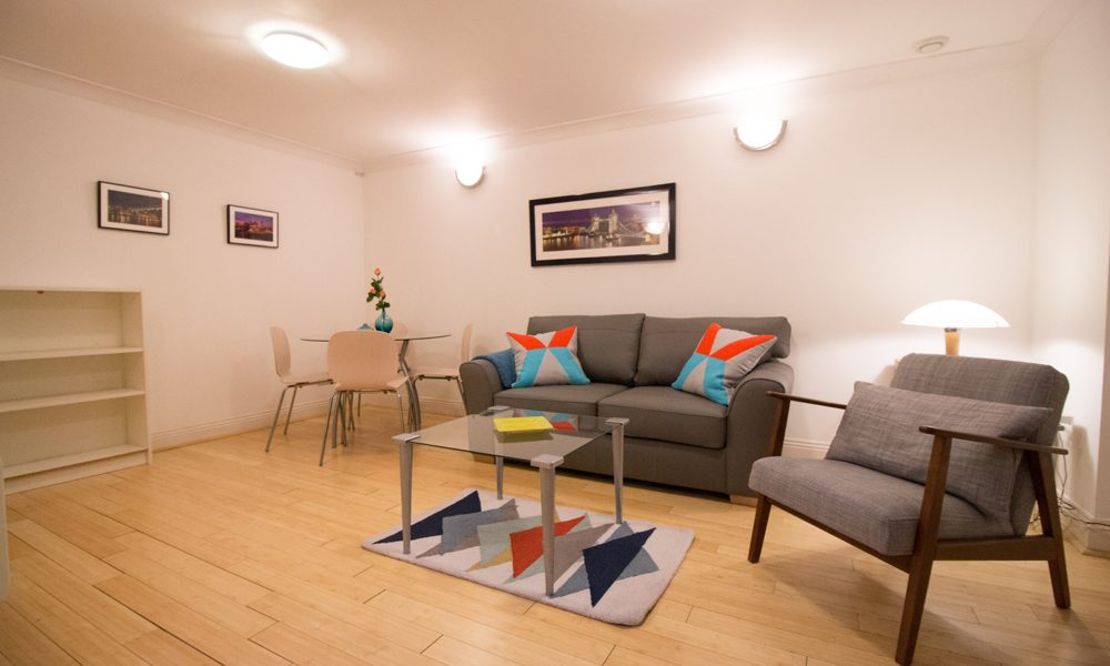 Monument – One Bedroom Serviced Apartment – Standard
