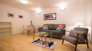 Monument – 1 Bedroom Serviced Apartment – Standard