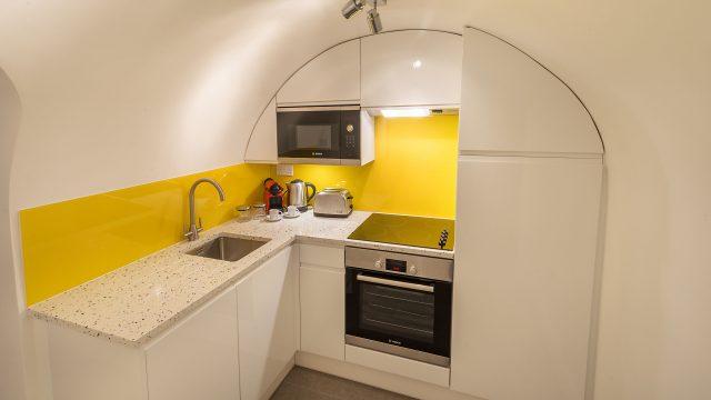 Marylebone serviced studio kitchen 1, 26
