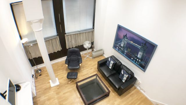 Living Room - High View