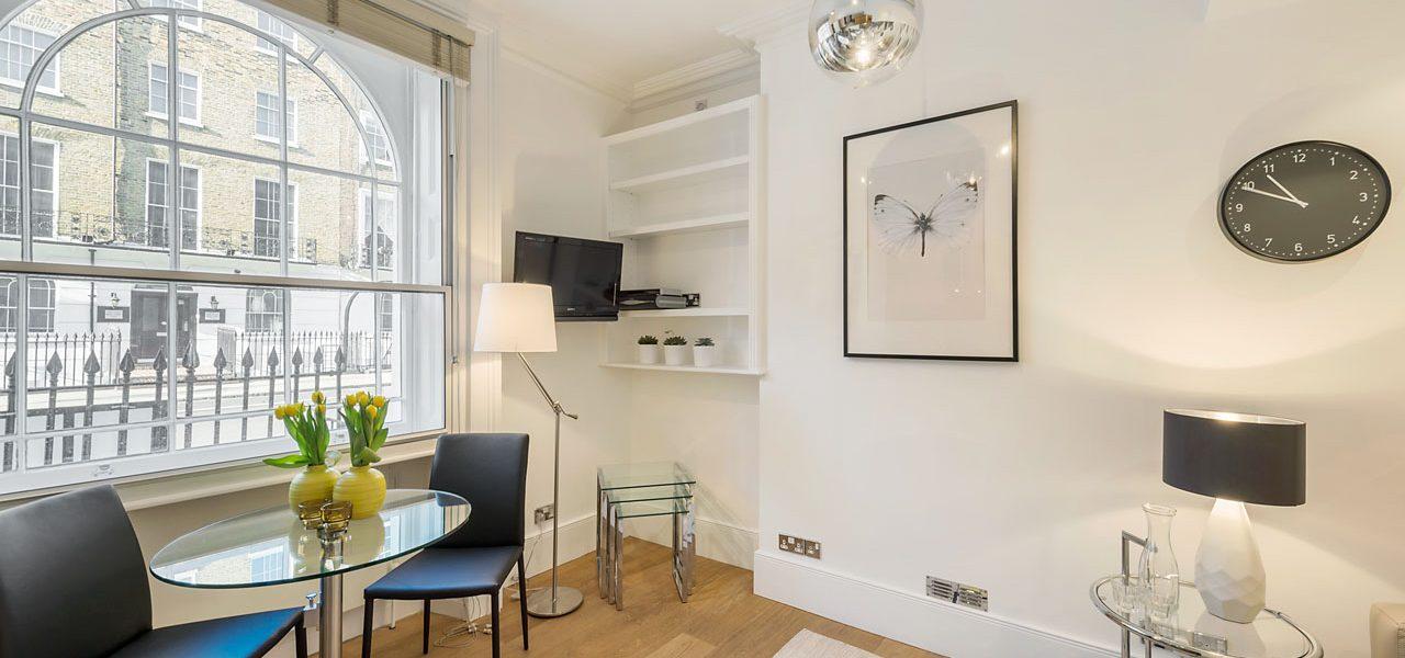 Marylebone Regents Park – 1 Bedroom Serviced Apartment – Standard