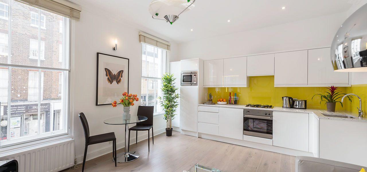 Marylebone Central – 1 Bedroom Serviced Apartment – Standard