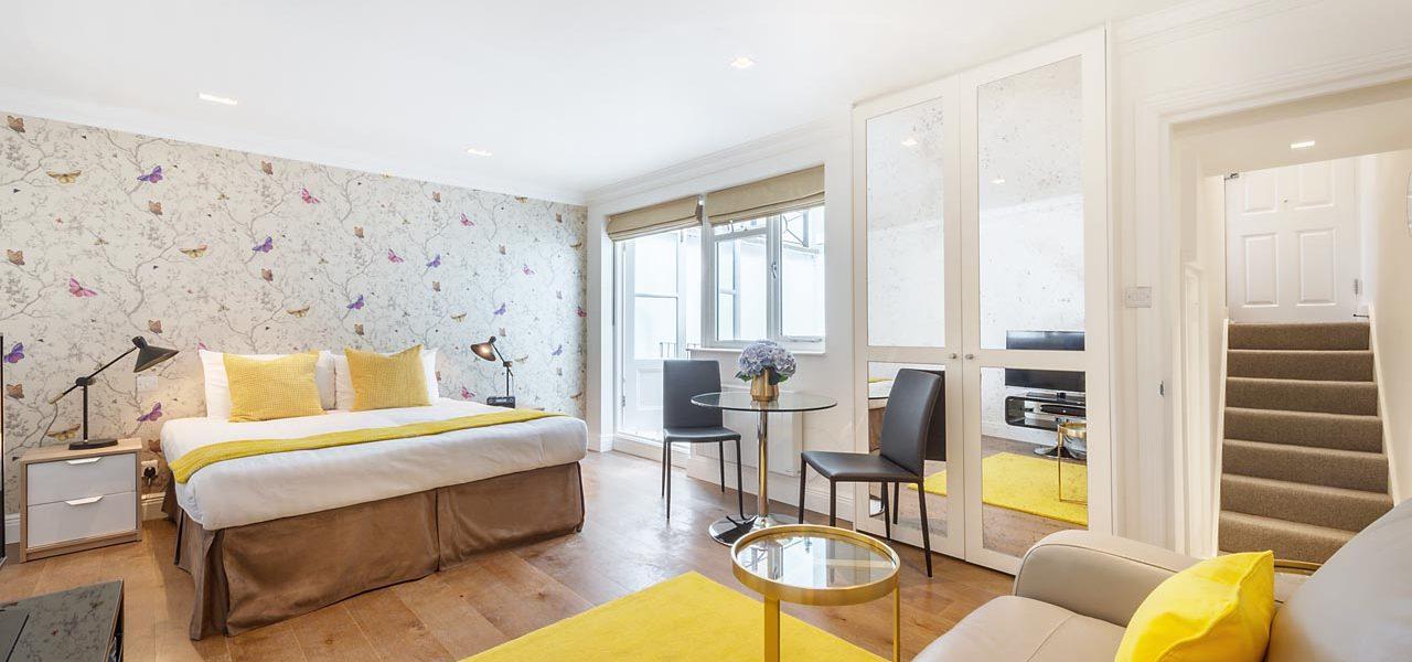 Marylebone Central – Studio Serviced Apartment – Superior