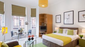 Chelsea – Studio Serviced Apartment – Superior