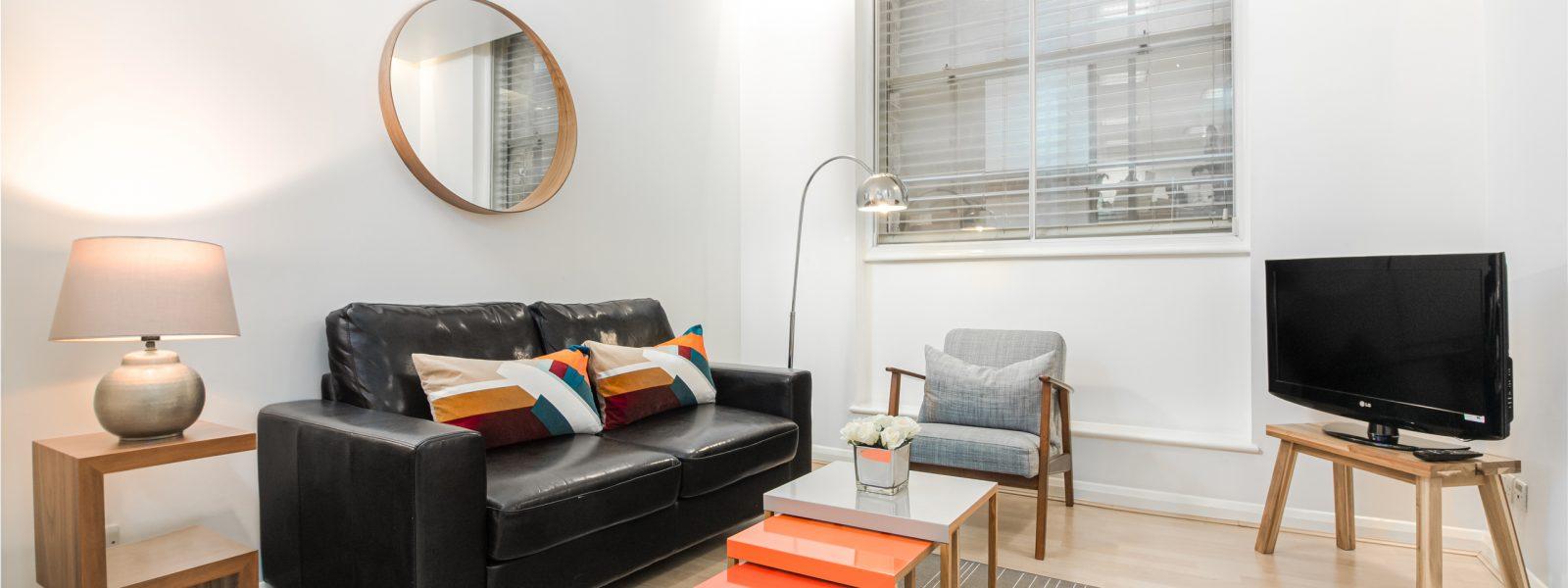 St Pauls – 1 Bedroom Serviced Apartment – Standard